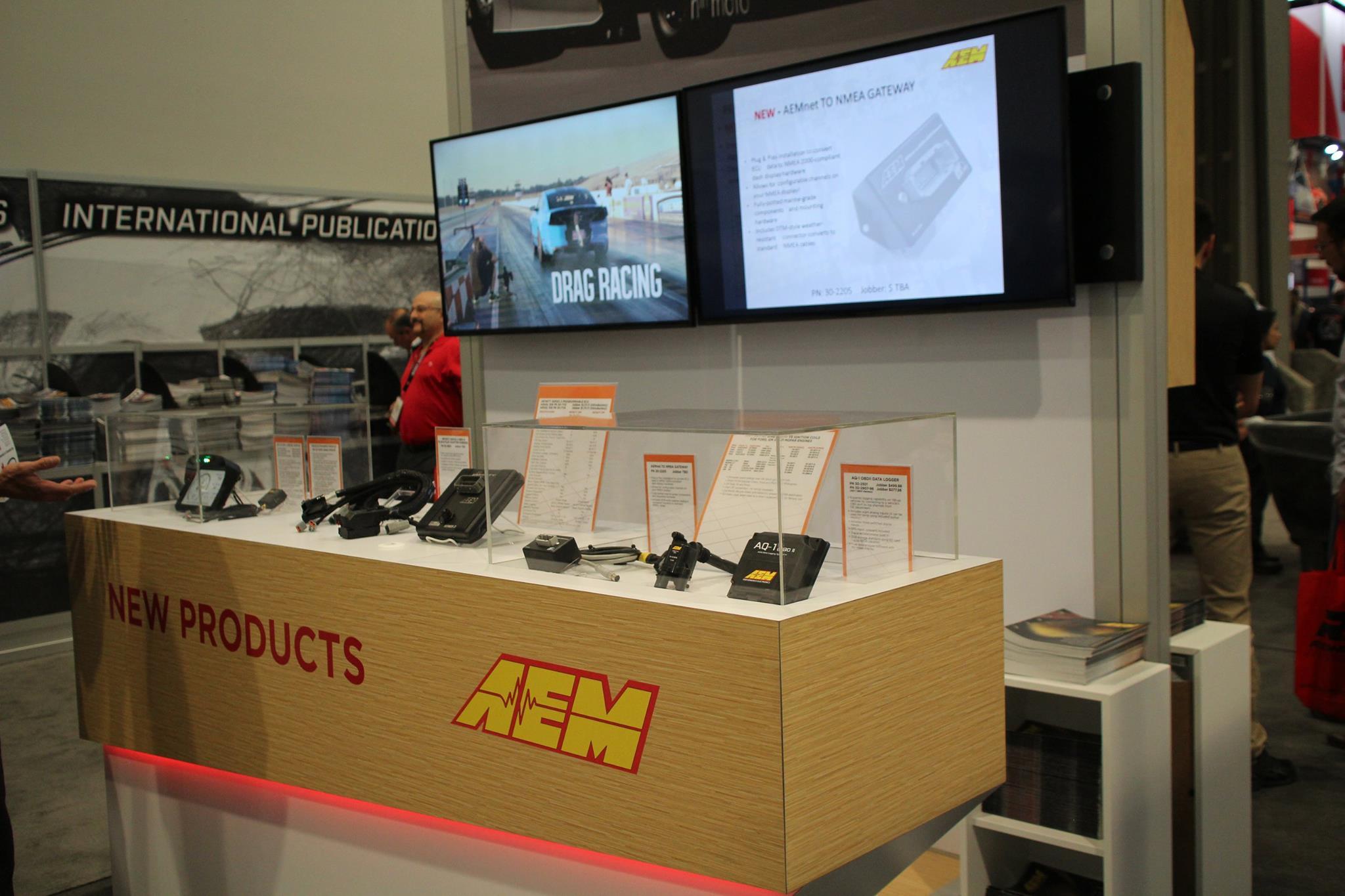 AEM Electronics SEMA 2016 New Products