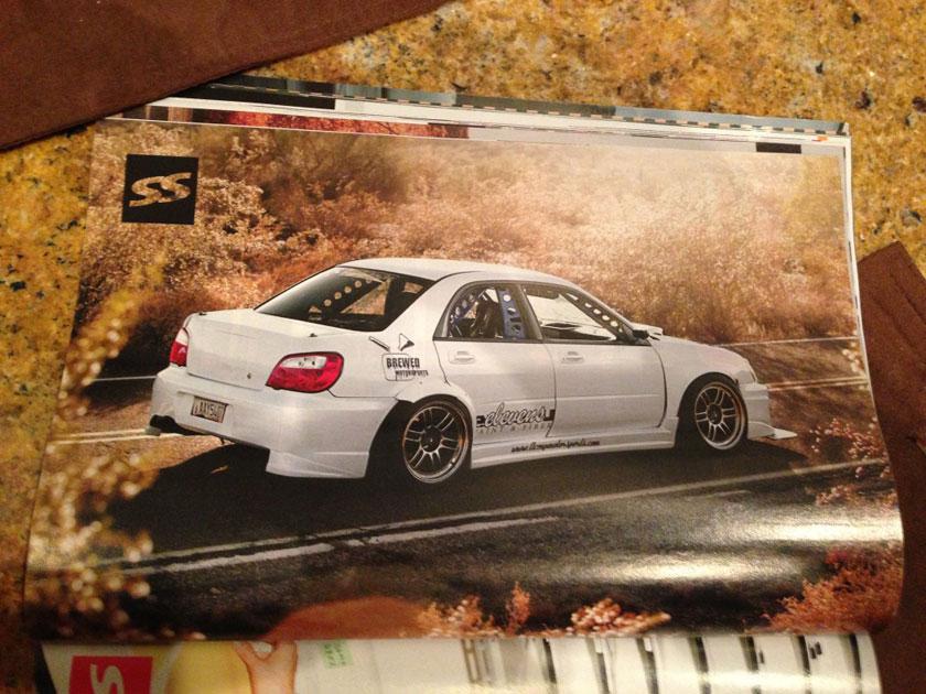 brewed motors Subaru wrx sti driftaru