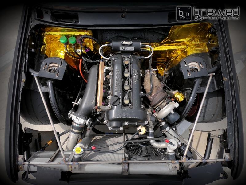 Sr20 Swap Bmw Tuned On Aem Infinity Flex Fuel With Id1050x