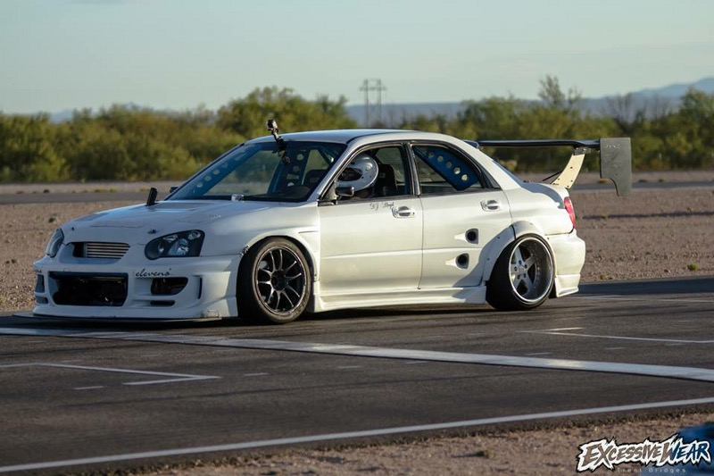 RWD conversion STI drift car Full race twin scroll EJ25 swapped to 2jz