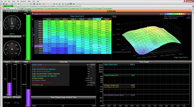 motec M1 tune software