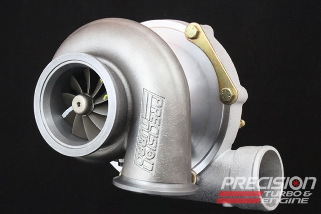 Precision billet pte5858 turbocharger