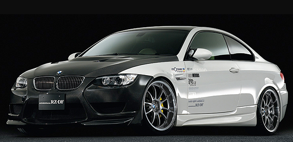 advan racing BMW M3 RZ-DF forged mono block wheels