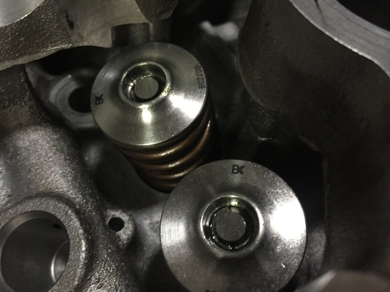 Nissan SR20DET Brian Crower valvesprings and titanium retainers