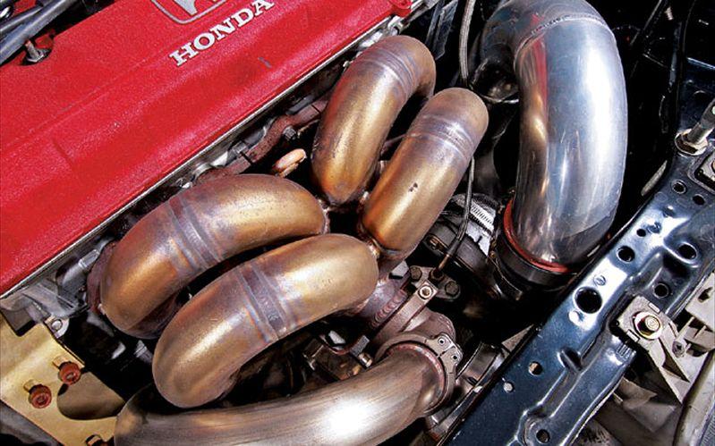 Full Race Pro Street Turbo Kit For Honda B Series Engine - Acura integra turbo kit