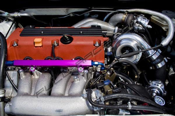 Full Race Pro Street Turbo Kit For Honda K Series Engine - Acura rsx type s turbo kit