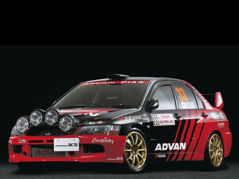 Advan RCIII Mitsubishi Evo