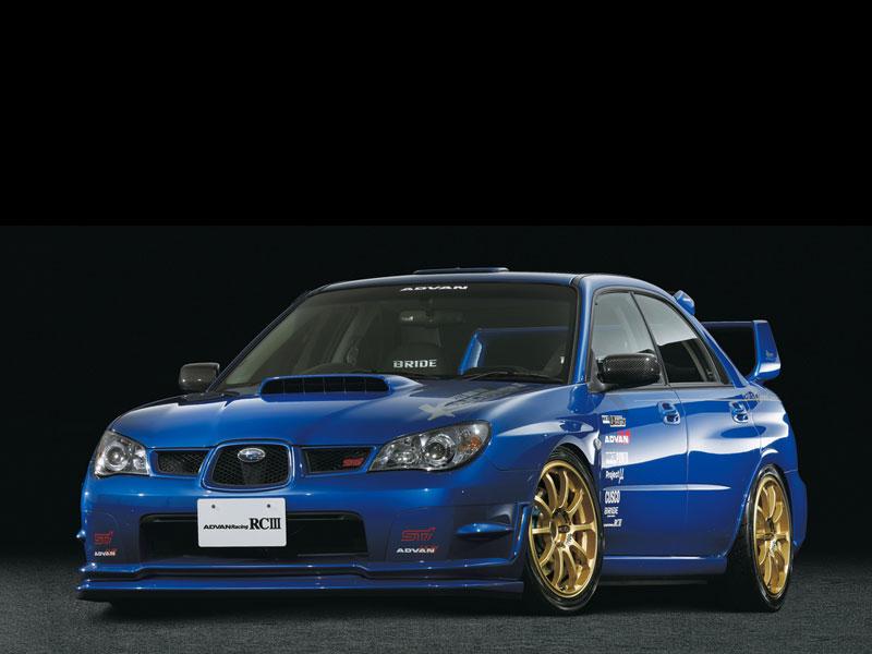 Subaru WRX Advan RCIII