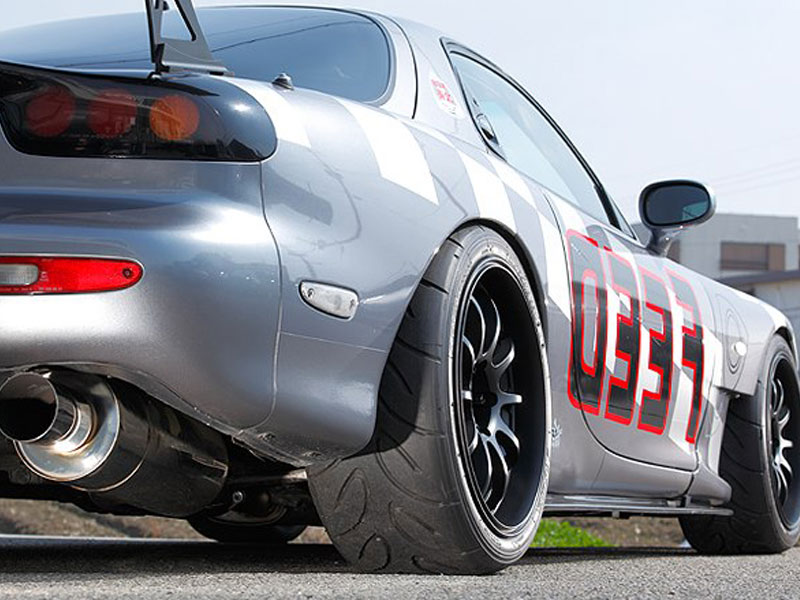 FEED RX-7 FD3S with Advan RS-D wheels