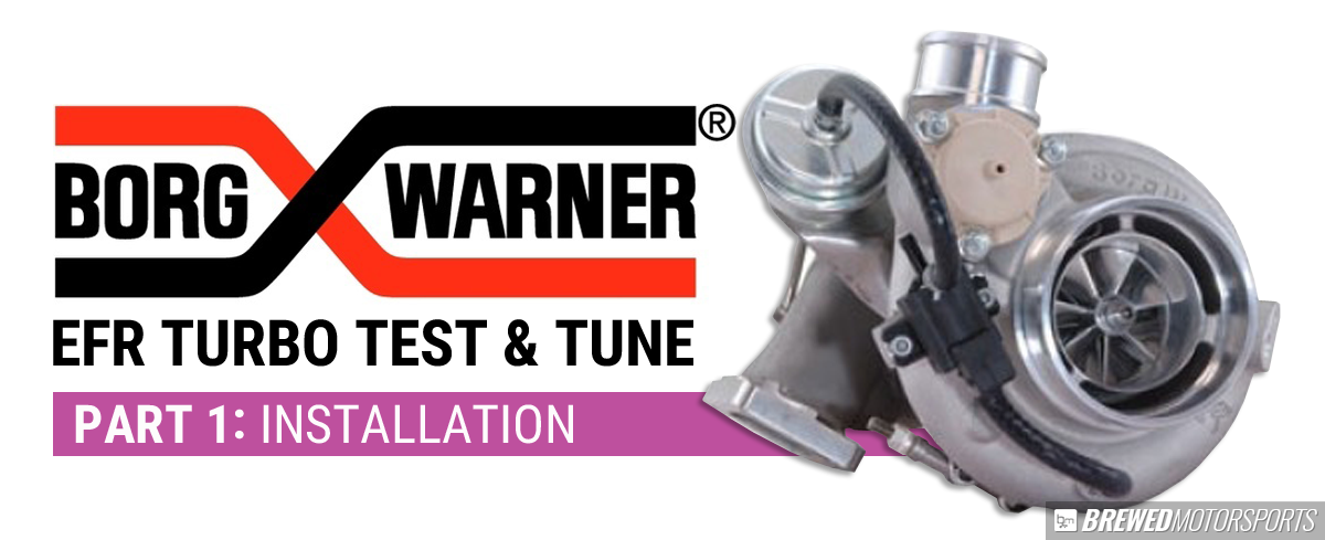 Borg Warner turbo test and tune