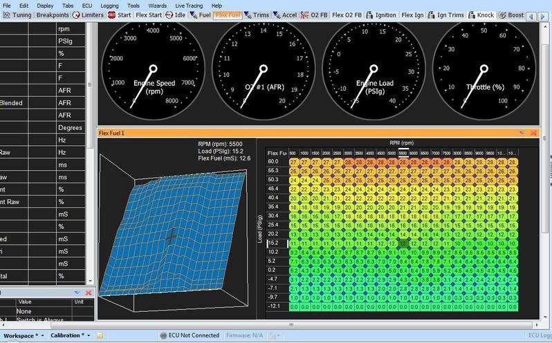AEM Flex Fuel Tuning E85 Ethanol Blend