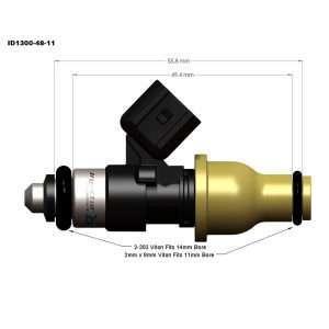 Injector Dynamics ID300-48-11 fuel injector