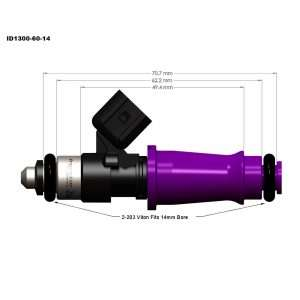 Injector Dynamics ID300-60-14 fuel injector