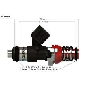 Injector Dynamics 1700-48-11 Fuel Injector