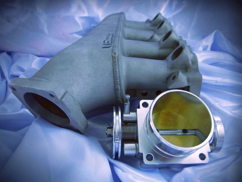 Velocity Element SR20 Intake Manifold and 77mm Throttle Body