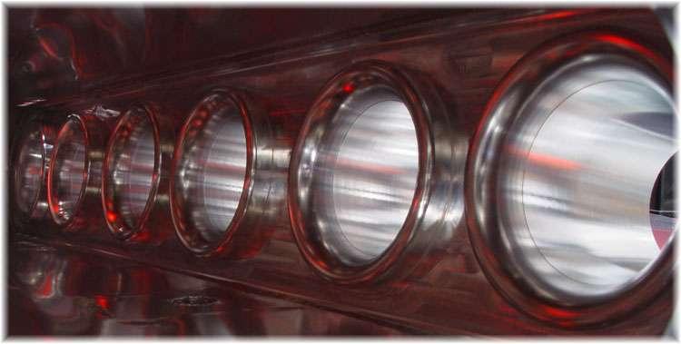 Velocity stacks inside Hypertune RB25 RB26 Intake Manifold