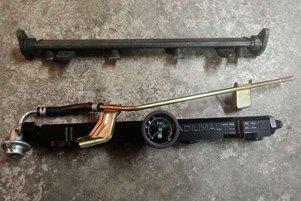 stock rail compared to Radium fuel rail