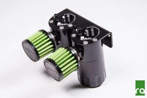 Radium Engineering Dual Catch Can Kit