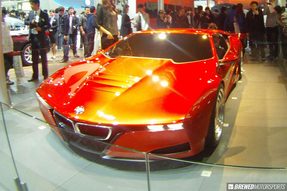 BMW M2 Hommage concept at 2011 Seoul Motor Show