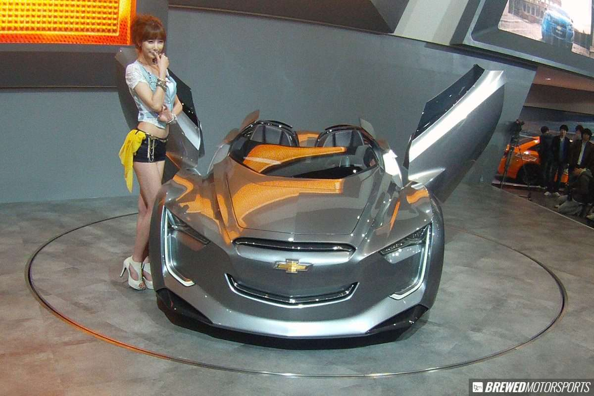 Chevrolet Mitay concept at 2011 Seoul Motor Show