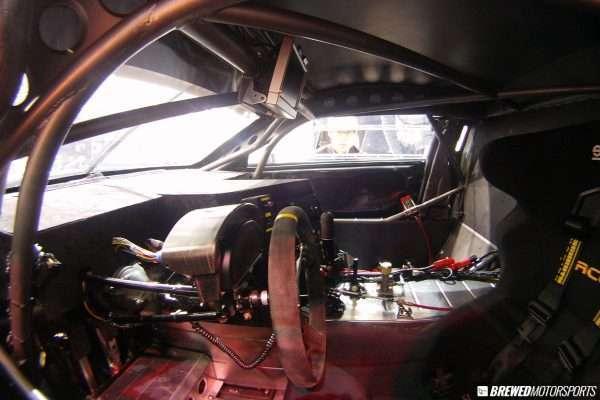 Hyundai Genesis GT300 cockpit