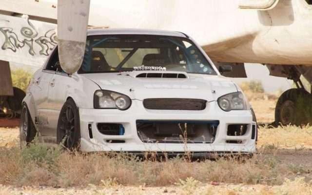 Driftaru Subaru WRX drift car