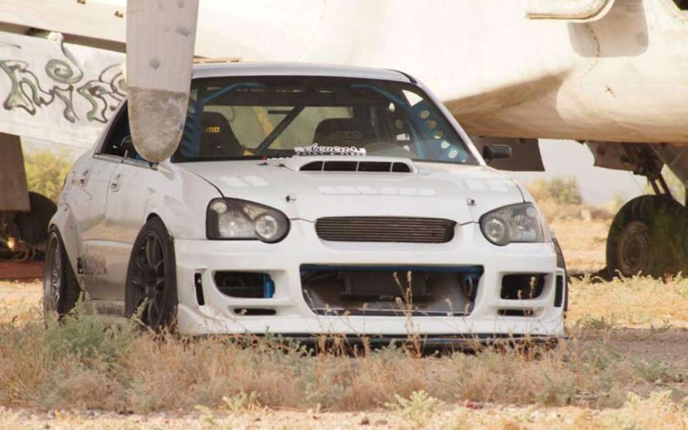 Driftaru Subaru WRX drift car