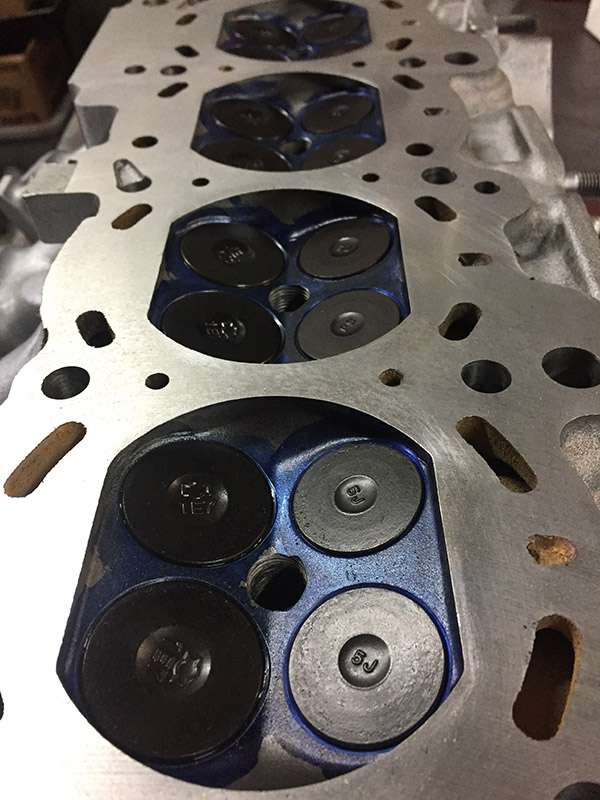 SR20DET head resurfacing