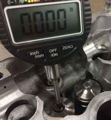 SR20DET valve shim dial gauge tool