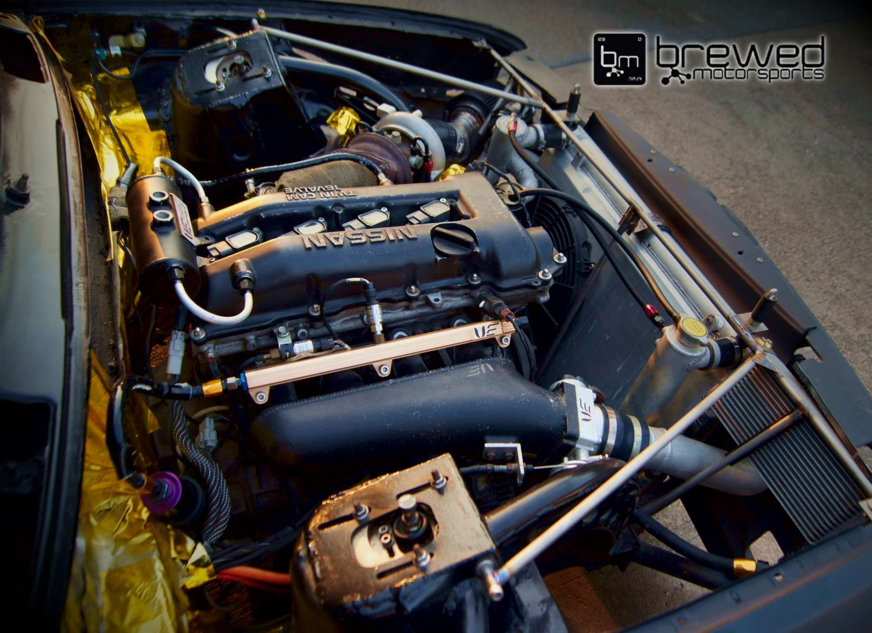 Bmw E30 Sr20det Swap On E85 Brewed Motorsports