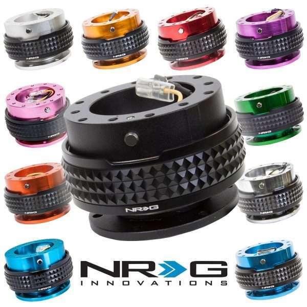NRG Quick Release Gen 2.1 Black Pyramid colors