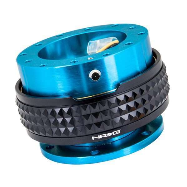 NRG Gen 2.1 Quick Release - New Blue Body/Black Pyramid Ring
