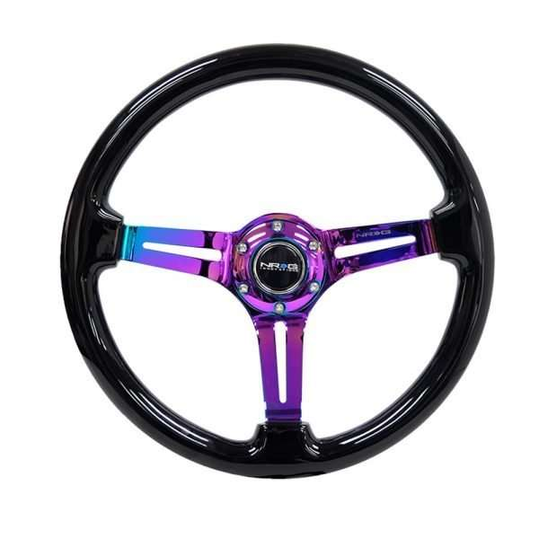 NRG Innovations RST-018BK-MC steering wheel