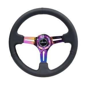 NRG RST-018R-MCBS steering wheel