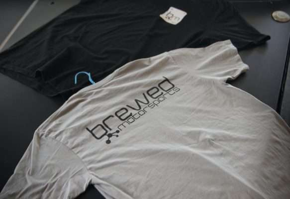 Brewed Motorsports T shirt