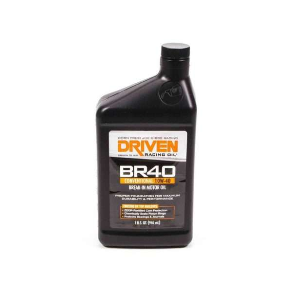 Driven Racing Oils BR40 10W-40 break-in oil (single quart)