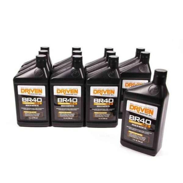 Driven Racing Oils BR40 10W-40 break-in oil (12 quarts)