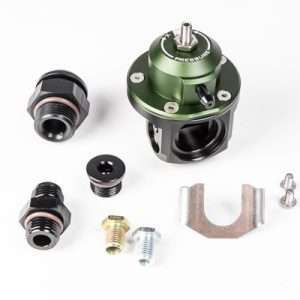 Radium Engineering Direct Mount Fuel Pressure Regulator (green top)