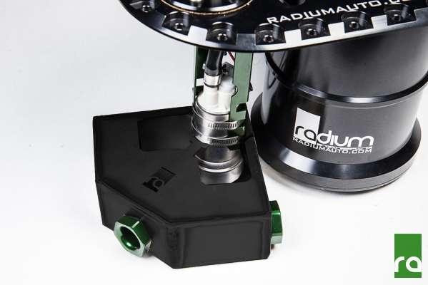fuel collector box check valve