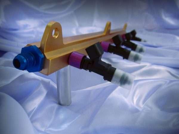 Velocity Element billet cnc fuel rail