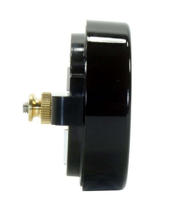 AEM X-series gauge side view
